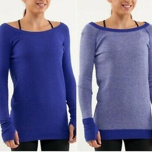 Lululemon Reversible Chai Time Pullover Sweater